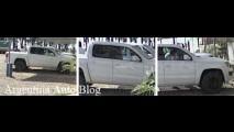 Nova pick-up Volkswagen Amarok é flagrada sem disfarces na Argentina