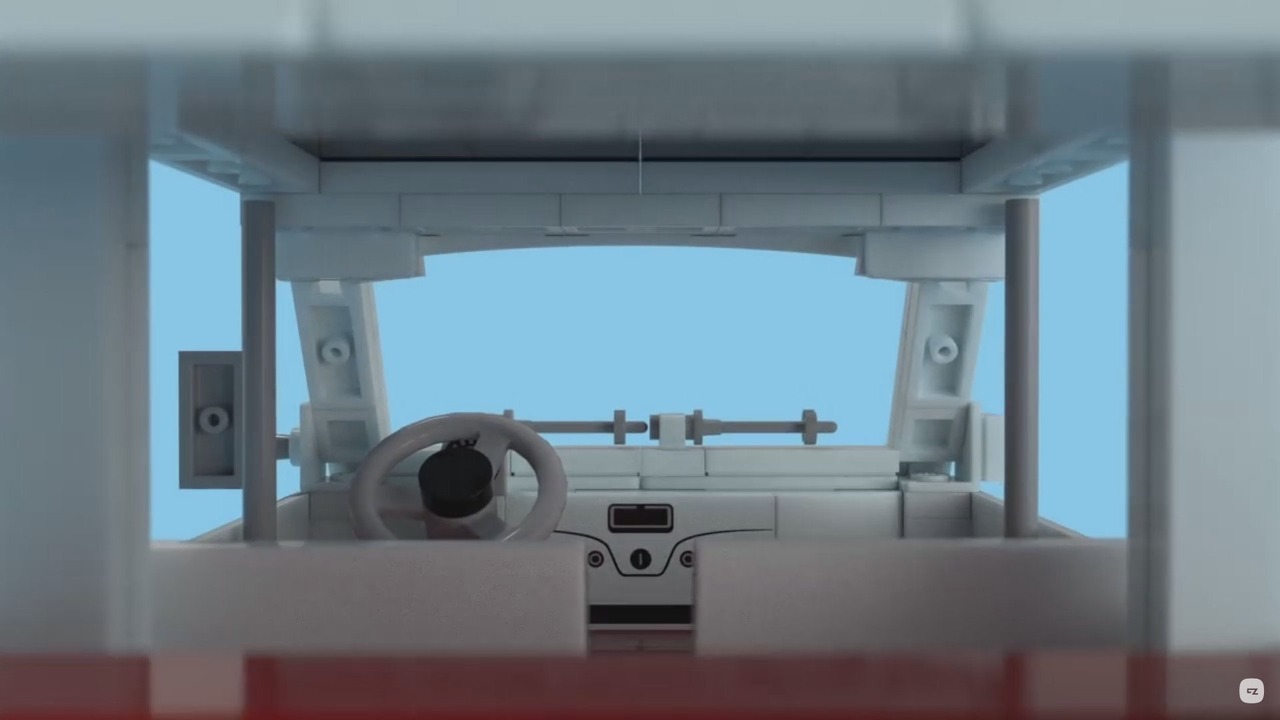 Fiat 500F Lego kit