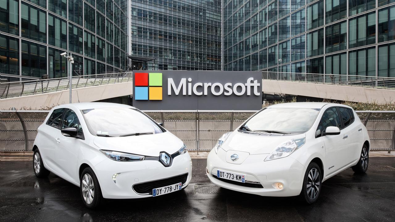 Nissan Renault Microsoft deal