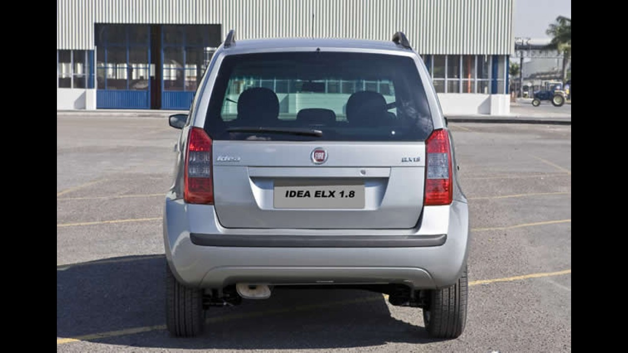 Nova versão: Fiat Idea 1.8 ELX 2010 é lançada com preço inicial de R$ 40.910