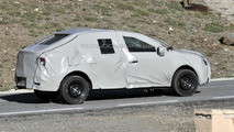 Next-generation Dacia Logan spy photo 25.6.2012