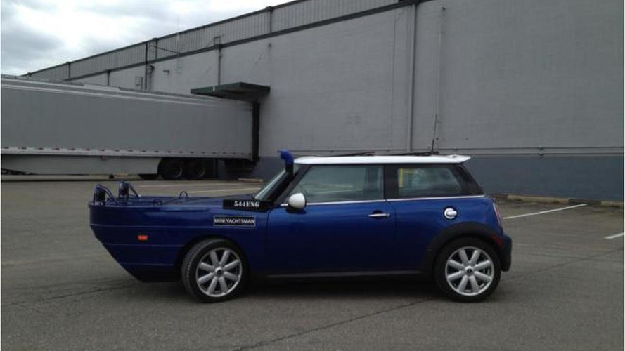New Amphibious MINI Cooper Yachtsman revealed