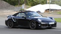 2013 Porsche 911 Turbo Cabrio spy photo - 18.8.2011