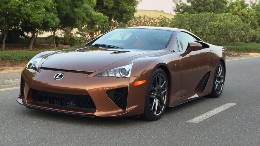 $645K Will Buy You The Only Pearl Brown Lexus LFA In The World