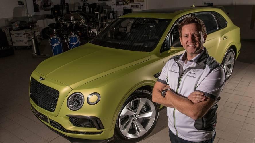 Bentley Bentayga a Pikes Peaken