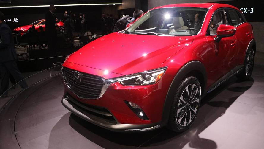 2019 Mazda CX-3 at the 2018 New York Auto Show photo