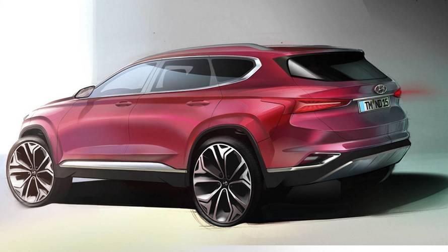 Hyundai Santa Fe 2018: nuevos teasers oficiales