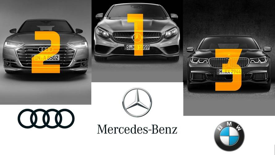 Ventes - Mercedes leader du premium en France en 2017