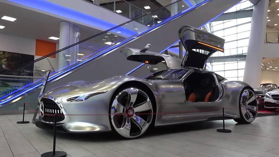 Mercedes AMG Vision GT konsepti yıllara meydan okuyor