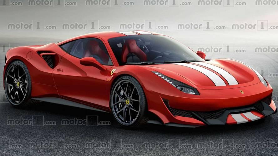 La Ferrari 488 Pista ressemblera à ça !