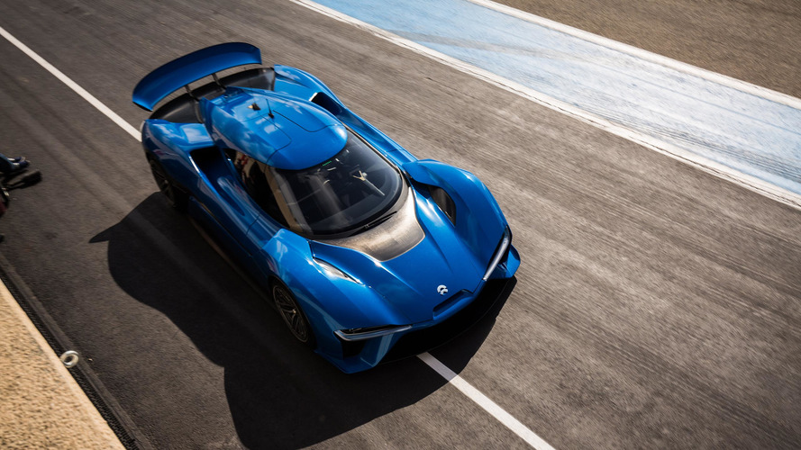 Nio EP9 claims fastest autonomous car lap record at COTA, goes 257 km/h