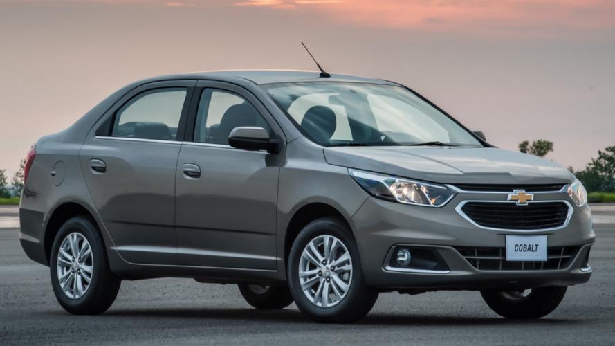 Chevrolet inicia exportação do Cobalt reestilizado para o Chile