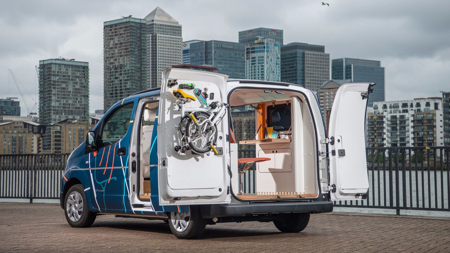Nissan wants you to work in an electric van down by the river