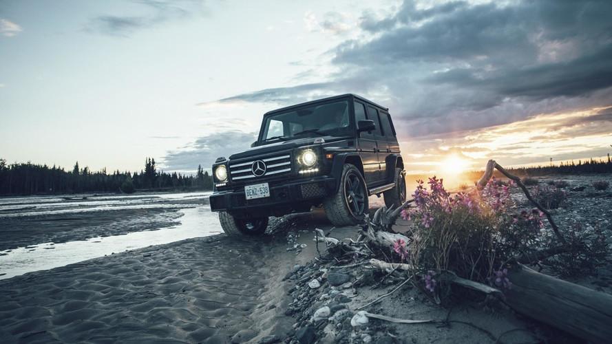 Mercedes G-Serisi'nin turundan harika fotoğraflar