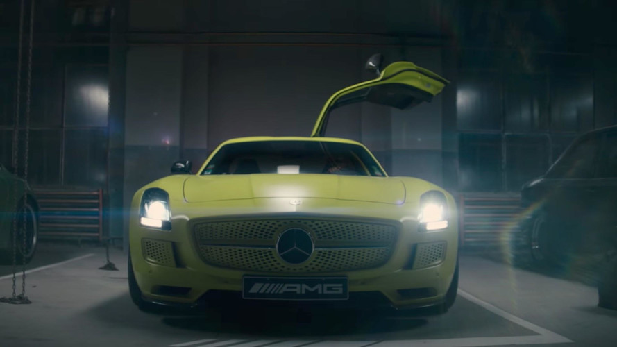 Mercedes, SLS AMG ED ile Project One'a dair ipuçları verdi