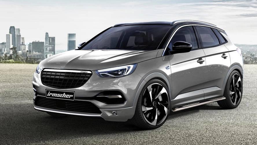 Opel Grandland X'e Irmscher dokunuşu geldi