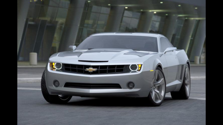 Chevrolet Camaro: confermata per il 2009!