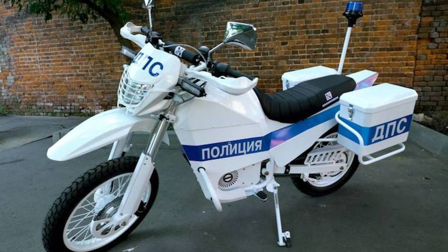 Kalishnikov Branches Out From Rugged Guns to Rugged Bikes