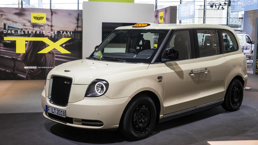 New London Taxi Shown In Final Form