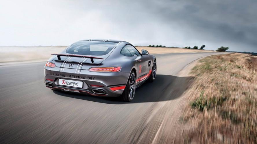 Akrapoviç'ten Mercedes-AMG GT'ye özel egzoz