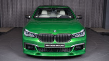 BMW M760Li verde Rallye Green 2018