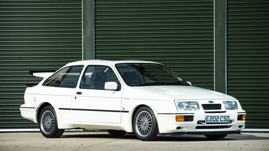 Hatasız Ford Sierra Cosworth müzayedede rekor hedefliyor