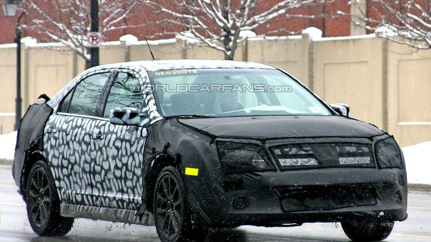 2010 Ford Fusion Spied
