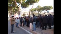 Liberalizzazioni, la protesta dei Taxi al Circo Massimo