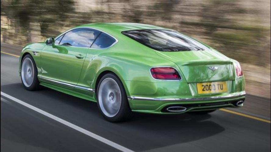 Bentley sfida Ferrari con una nuova GT