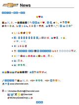 Try To #Translate #Chevrolet's All-Emoji #2016 #Cruze Press Release
