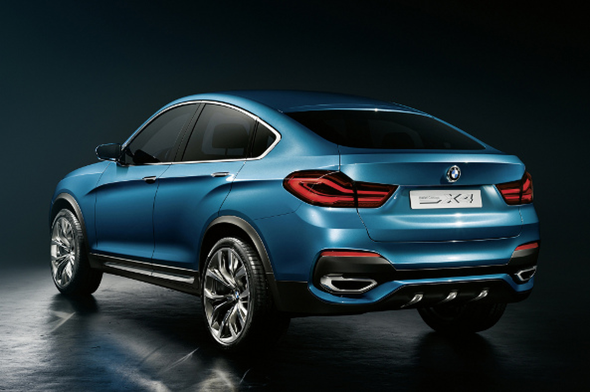 2014 BMW X4 Concept: Useless Has Been Downsized