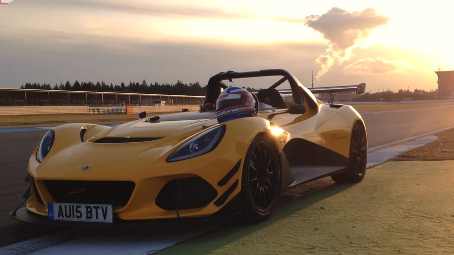 Lotus 3-Eleven faster at Hockenheim than Porsche 918 [video]