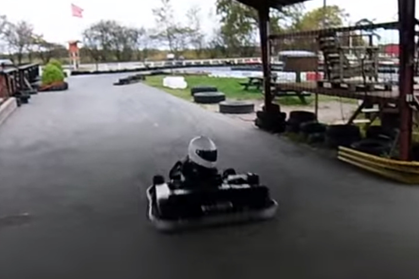 Child Parks Go-Kart Like a Boss [video]