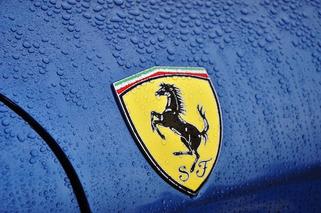 Dwyane Wade Cops a Blue Ferrari F12berlinetta