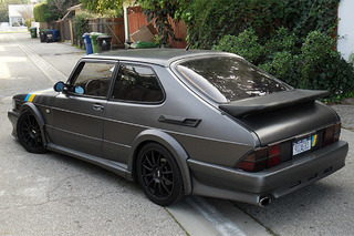This Tuned Saab 900 SPG is One Speedy Swede
