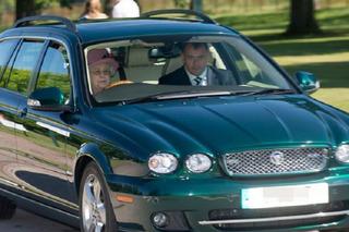 Queen Elizabeth Drives Her Jaguar Wherever She Pleases