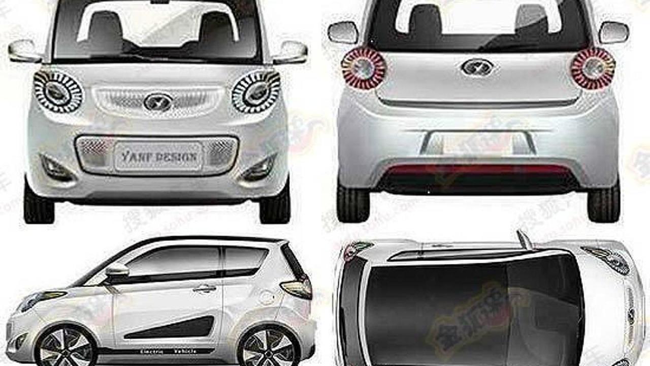 Nanjing Jiayuan EV Smart ForSpeed-like model