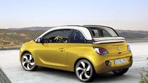 Opel Vauxhall Adam Cabrio rendering 05.02.2013