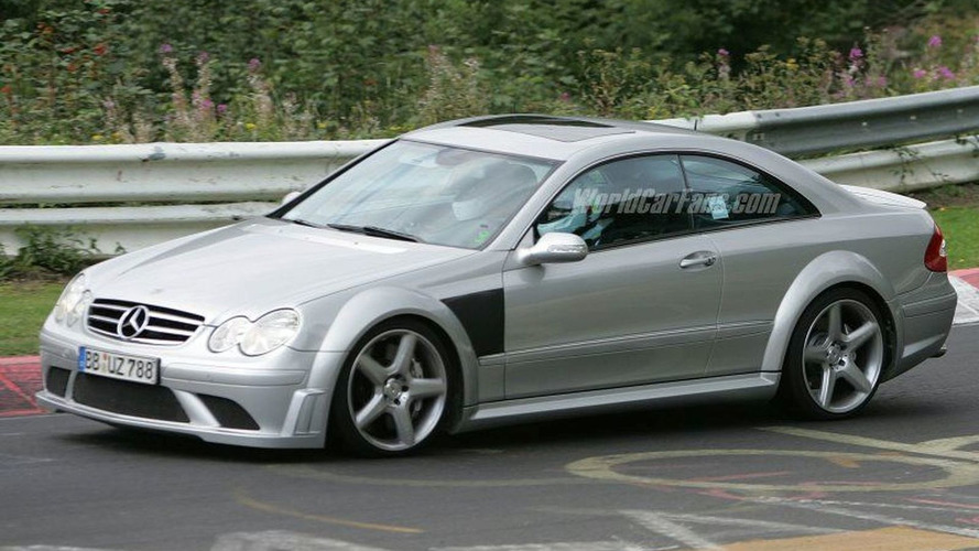 NEW SPY INFO: Mercedes CLK 63 AMG Black Series