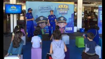 Patrulha Mirim: crianças se tornam fiscais dos pais em ação de segurança veicular