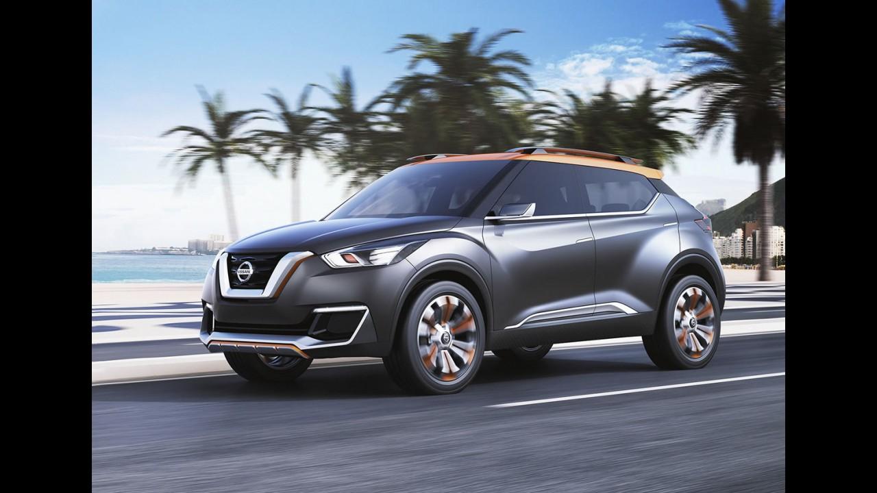 """""""Lançamento atrevido"""", Kicks ganha página exclusiva no site da Nissan"""