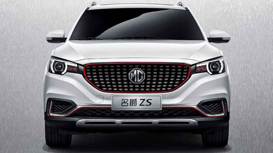 MG ZS leak reveals familiar design