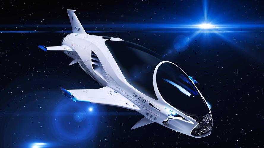 Lexus Skyjet, le nouveau vaisseau dans Valerian