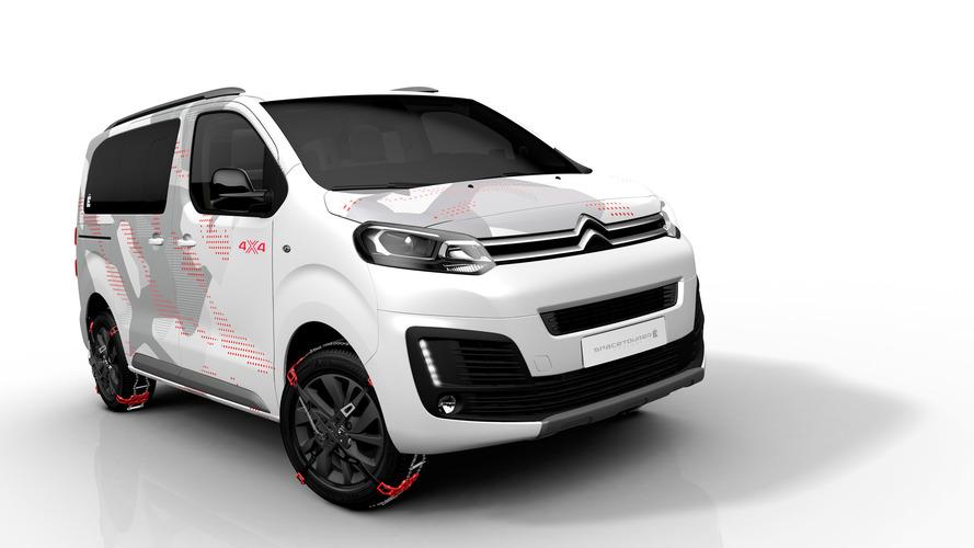 Citroën SpaceTourer 4x4 Ë Concept, un prototipo sin límites