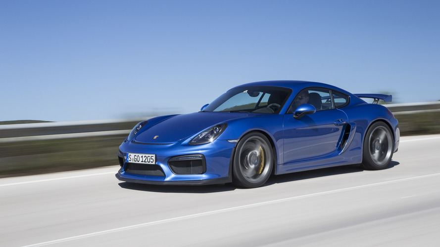Is a Porsche Cayman GT4 RS coming?
