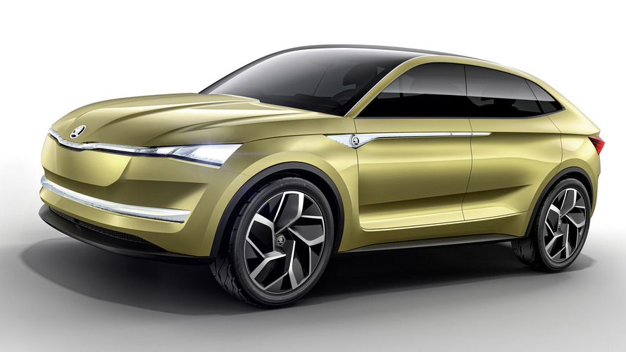 Skoda Vision E Concept: Meet The Czech Crossover Coupe