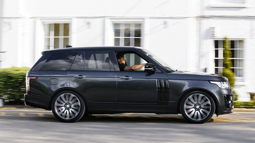 Anthony Joshua takes delivery of bespoke Range Rover