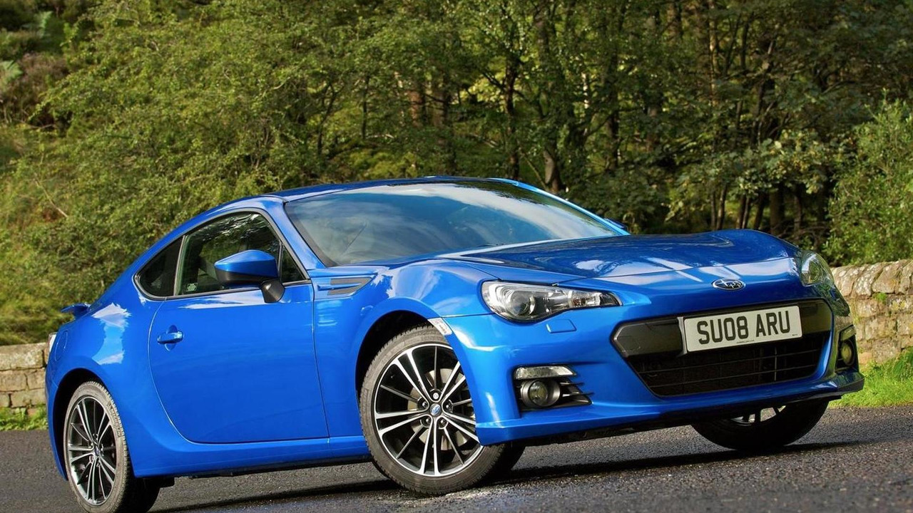 2014 Subaru BRZ (UK-spec)