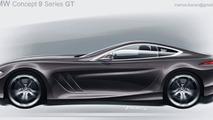 BMW 9-Series GT artist rendering