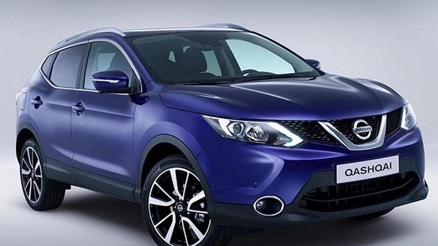 2014 Nissan Qashqai first official images hit the web